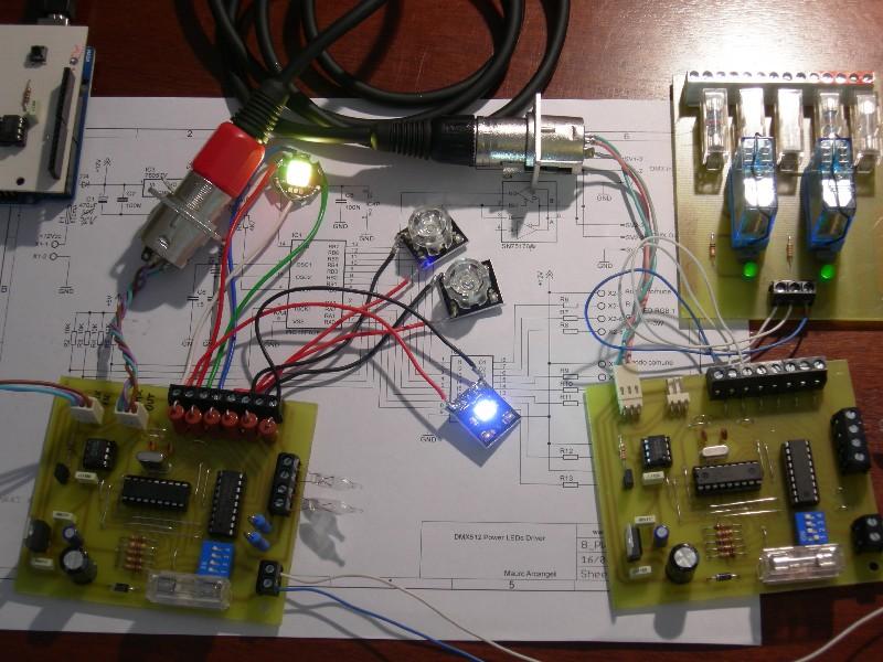 Progetti dispositivi dmx presepevirtuale