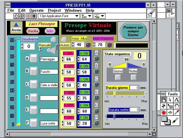 Schema Elettrico Giorno Notte Presepe : Presepe virtuale storia presepevirtuale